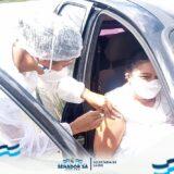 A Secretaria de Saúde deu início a mais uma etapa da vacinação contra o covid-19.