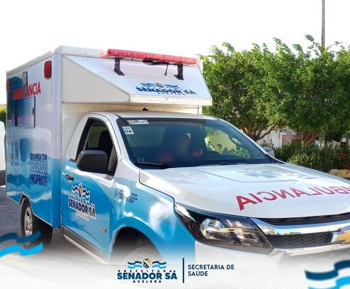 Prefeitura Realiza Entrega de Ambulância 0KM